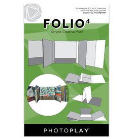 PHOTOPLAY 6.5X6.5 FOLIO 4, White