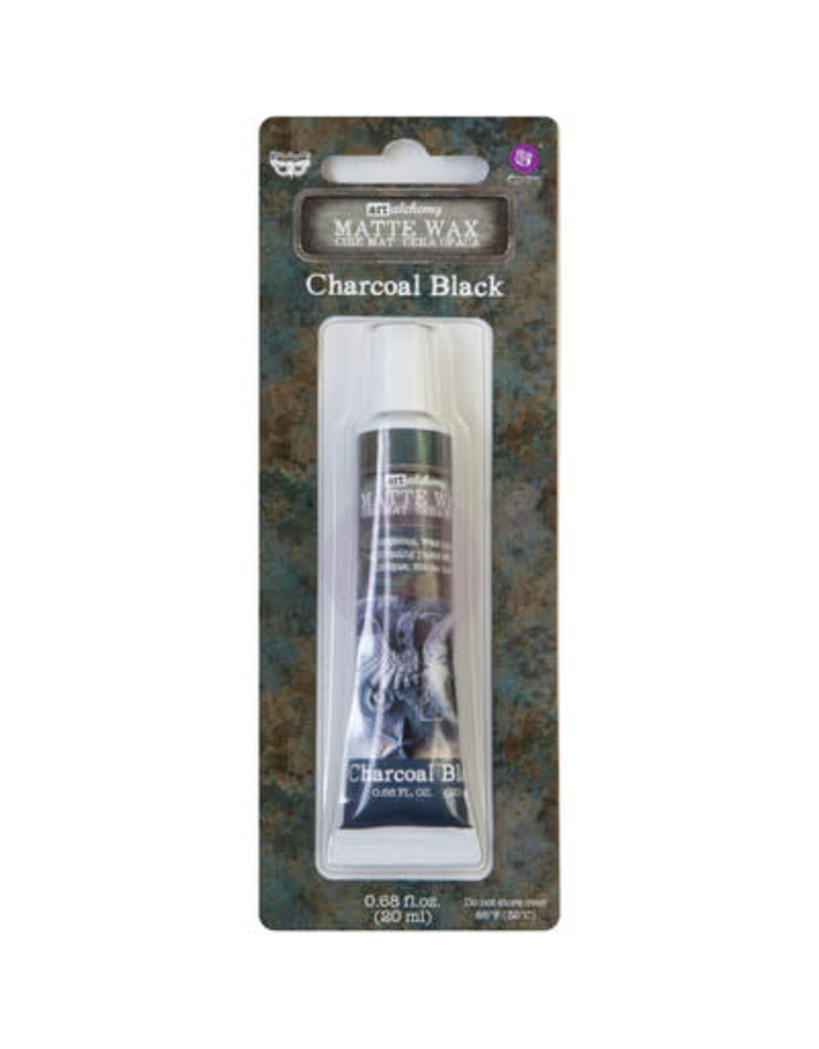 PRIMA MARKETING INC Art Alchemy Matte Wax Paste, Charcoal Black