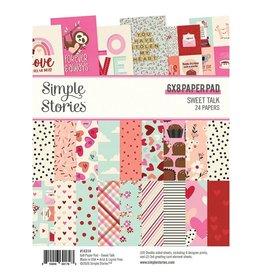 Simple Stories Sweet Talk 6x8 Paper Pad