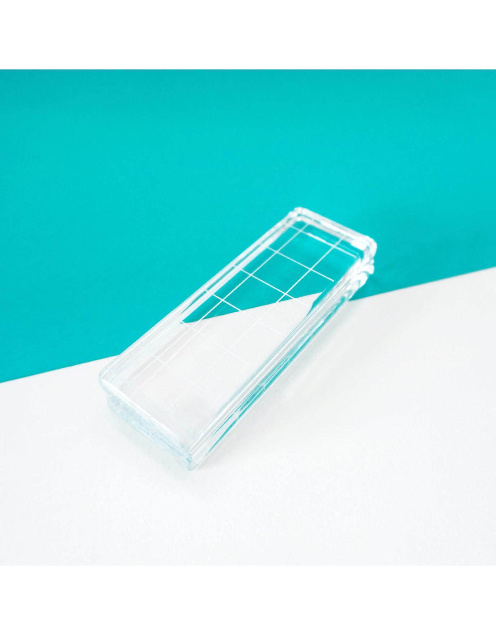 "Catherine Pooler Designs Acrylic Grid Stamping Block 1-1/4 x 3-1/2"""