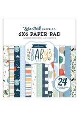 Echo Park 6X6 PAD   -WELCOME BABY B PAPER