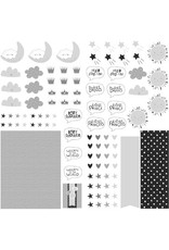 PHOTOPLAY 12X12 Die Cut Paper, Little One - Icons