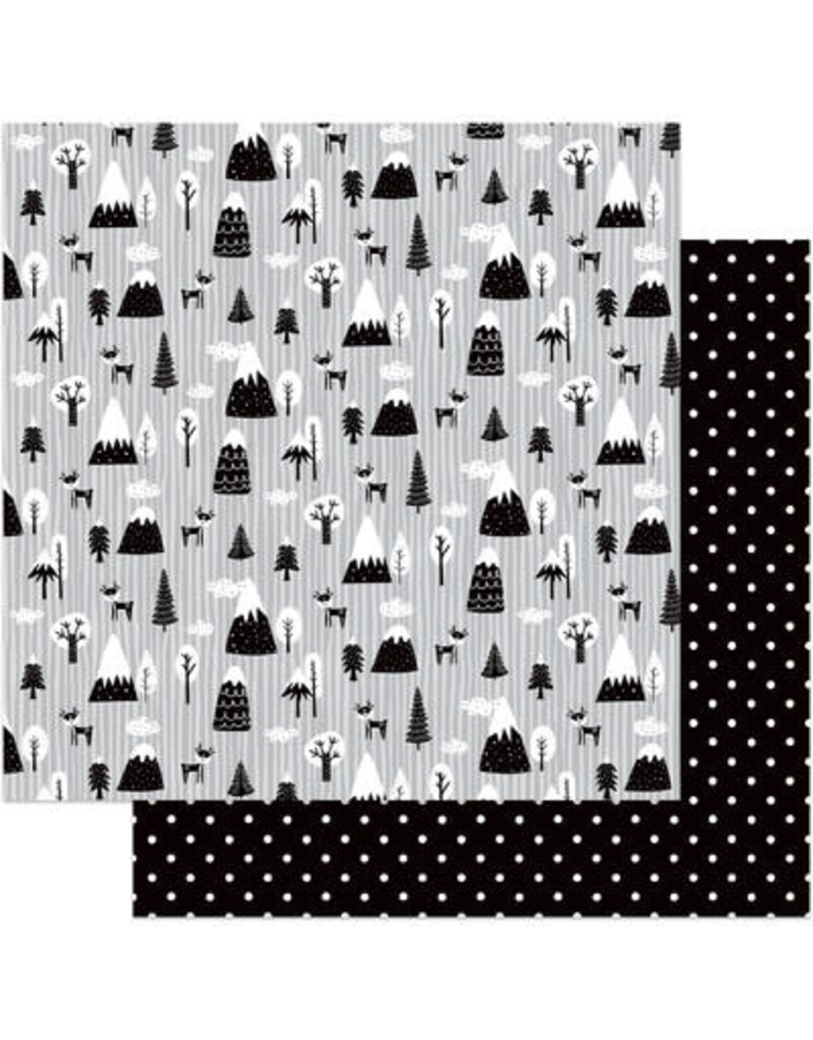 PHOTOPLAY 12X12 Patterned Paper, Little One - Oh Deer