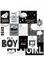 PHOTOPLAY 12X12 Patterned Paper, Little One - Sweet Dreams