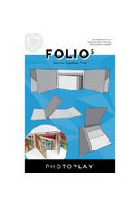 PHOTOPLAY 5.5X7 FOLIO 5, White
