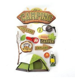 PAPER HOUSE PRODUCTIONS Camping - 3D Stickers