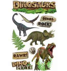 PAPER HOUSE PRODUCTIONS Dinosaurs - 3D Stickers
