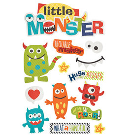 PAPER HOUSE PRODUCTIONS Little Monster - 3D Stickers