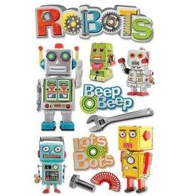 PAPER HOUSE PRODUCTIONS Robots - 3D Stickers