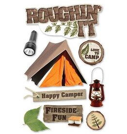 PAPER HOUSE PRODUCTIONS Roughing It - 3D Stickers