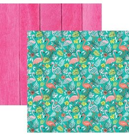 PAPER HOUSE PRODUCTIONS FLAMINGOS DOUBLE SIDED PAPER