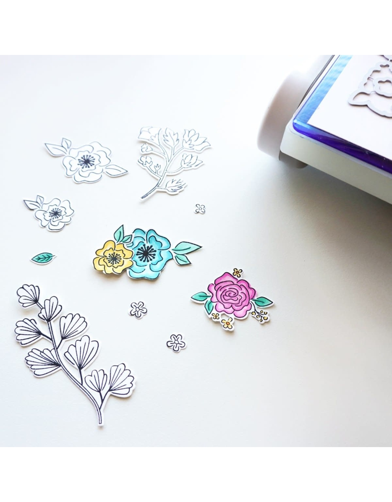 Catherine Pooler Designs Best Things In Life Floral Stamp