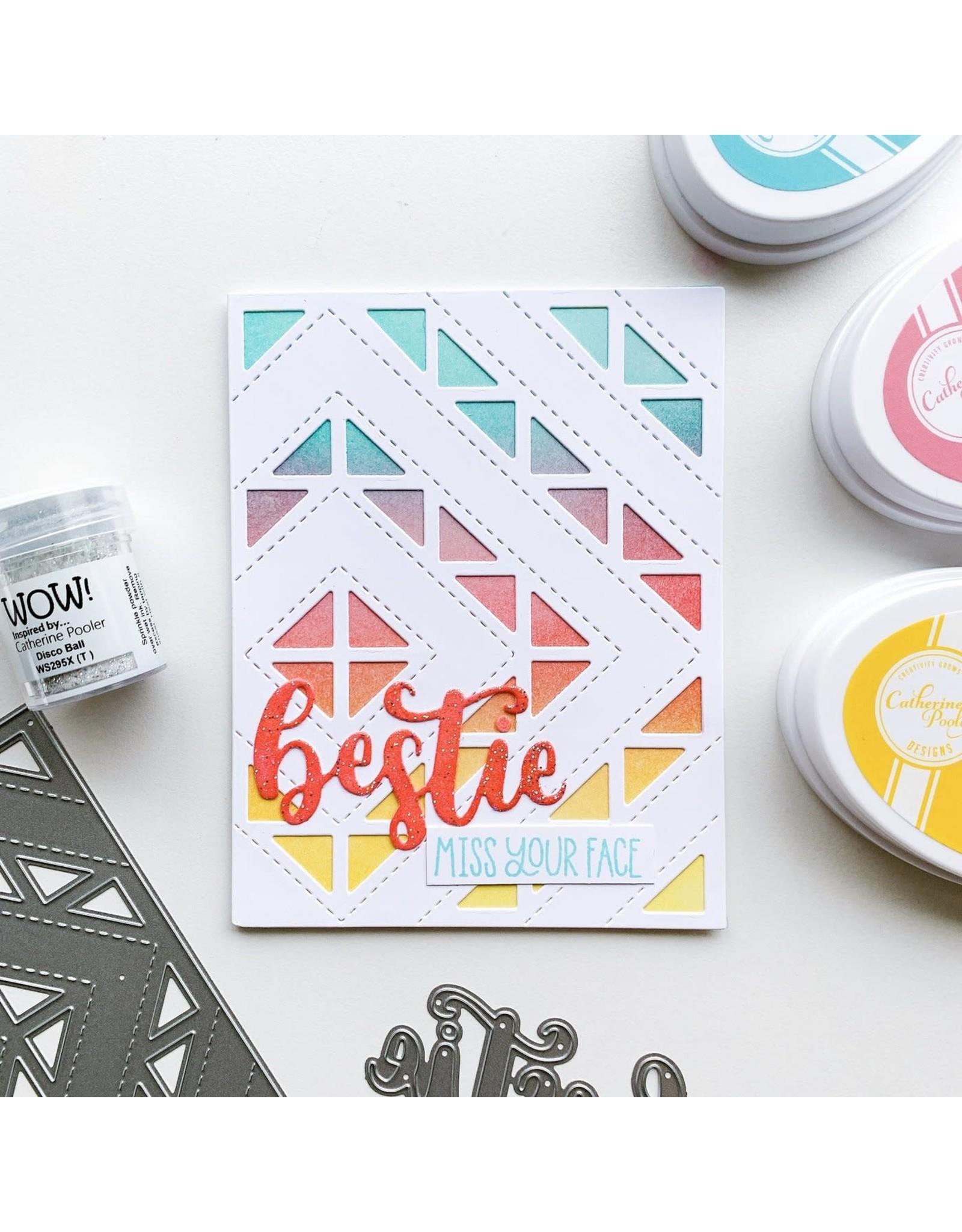 Catherine Pooler Designs Besties Word Die