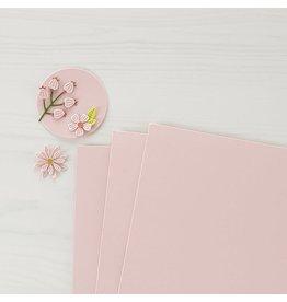 Spellbinders Pink Sand Color Essentials Cardstock 8.5x11