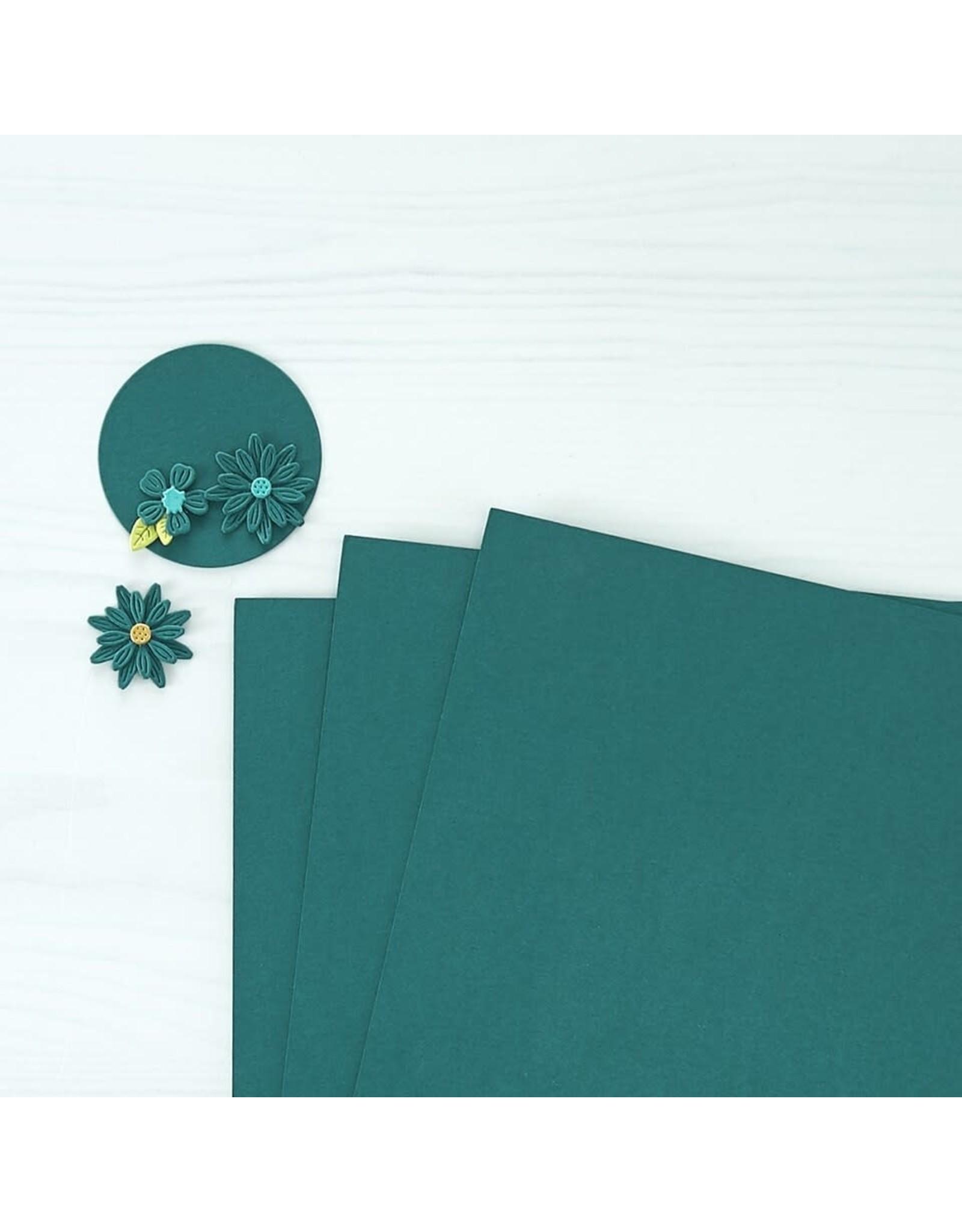 Spellbinders Blue Spruce Color Essentials Cardstock 8.5x11