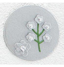 Spellbinders Brushed Silver Cardstock 8.5x11