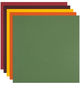 Colorplan Fall Assortment Cardstock 12x12 - 10 sheets