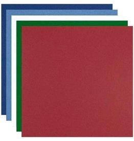 Colorplan Winter Assortment Cardstock 12x12 - 10 sheets
