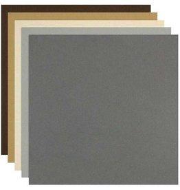 Colorplan Naturals Assortment Cardstock 12x12 - 10 sheets