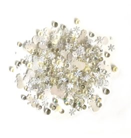 Buttons Galore & More Sparkletz - Snow Drift