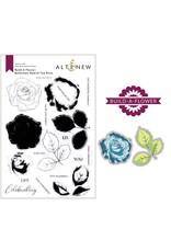 ALTENEW Build-A-Flower: Bellaroma Hybrid Tea Rose Layering Stamp & Die