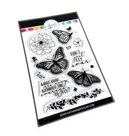 Catherine Pooler Designs Club Canvo: Just Soar Stamp Set
