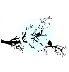 Frogs Whiskers Frogs Whiskers Stamp - Birds In a Tree