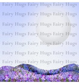Fairy Hugs Fairy Hugs Background Paper - 6x6 Moon Light