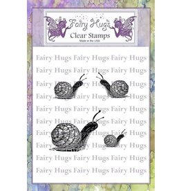 Fairy Hugs Fairy Hugs Stamps - Snail Family