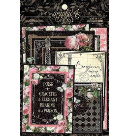Graphic 45 Graphic 45 - Elegance Collection - Journaling Cards