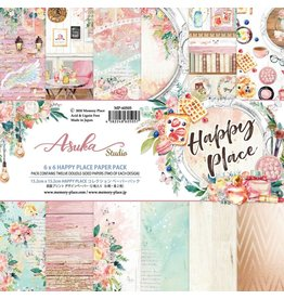 ASUKA STUDIO ASUKA STUDIO HAPPY PLACE 6X6 PAPER PAD