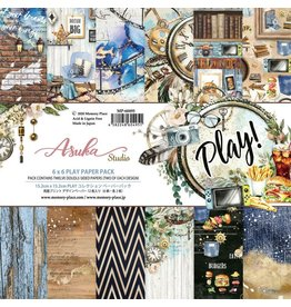 "ASUKA STUDIO Asuka Studio Double-Sided Paper Pack 6""X6"" 10/Pkg-Play"