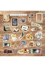ASUKA STUDIO Asuka Studio - Play Ephemera Cardstock Die-Cuts