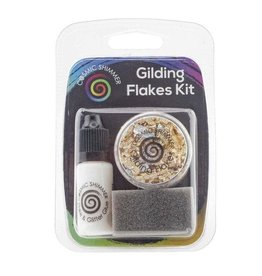 Cosmic Shimmer Cosmic Shimmer - Gilding Flakes Kit - Egyptian Gold