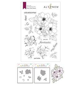 ALTENEW Fairy Tale Florals Stamp & Die & Coloring Stencil Bundle