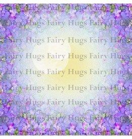 Fairy Hugs Fairy Hugs Background Paper - 6x6 Lavendar Dilly