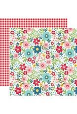 Echo Park A Slice of Summer - Summer Floral 12x12 Paper