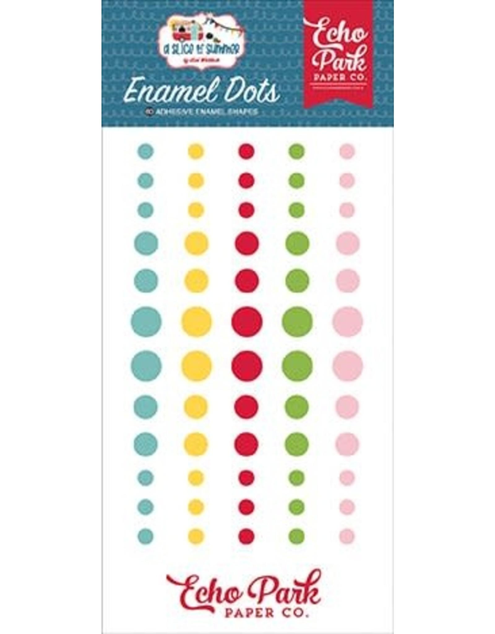 Echo Park A Slice of Summer - Enamel Dots