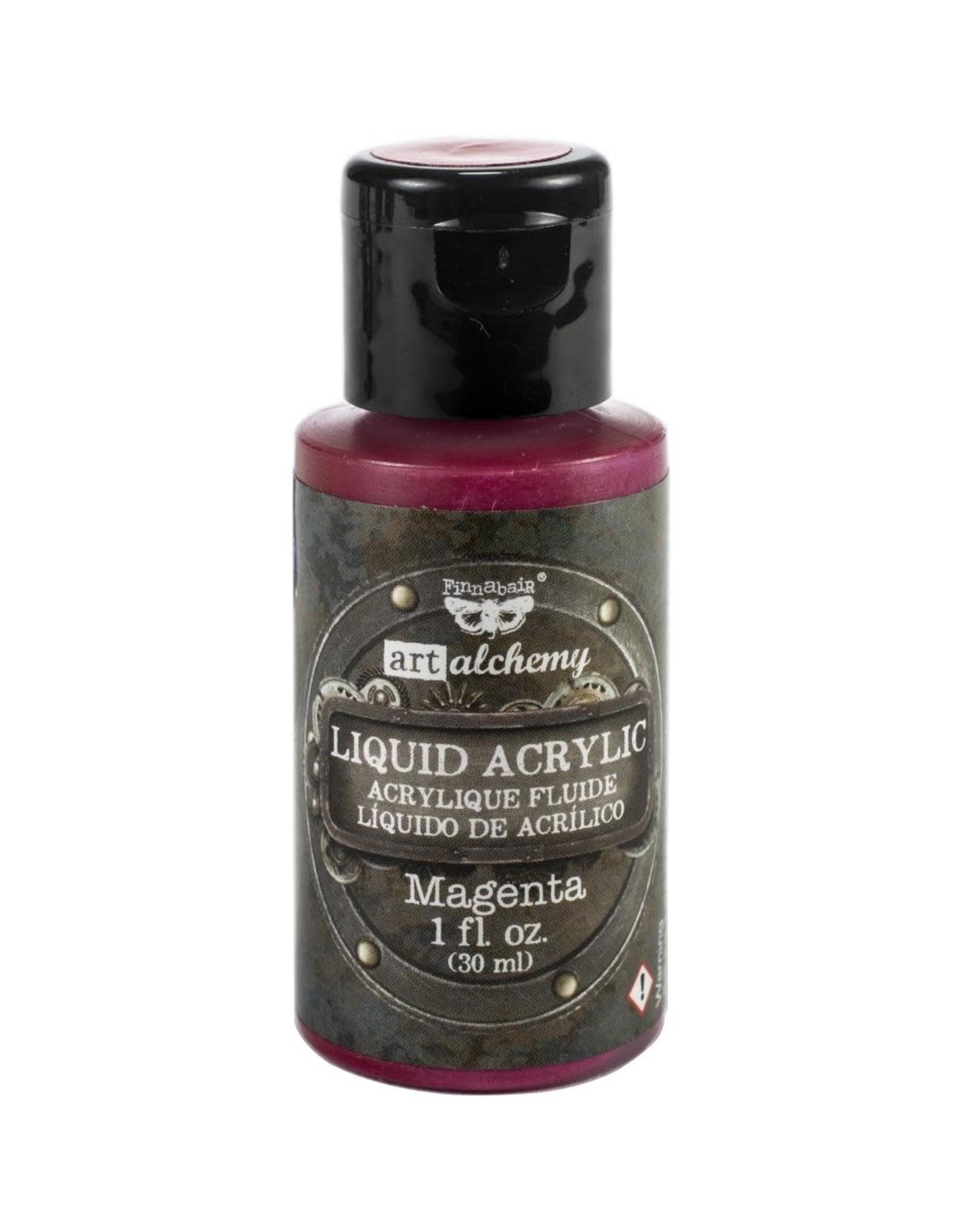 PRIMA MARKETING INC Art Alchemy Liquid Acrylic Paint - Magenta