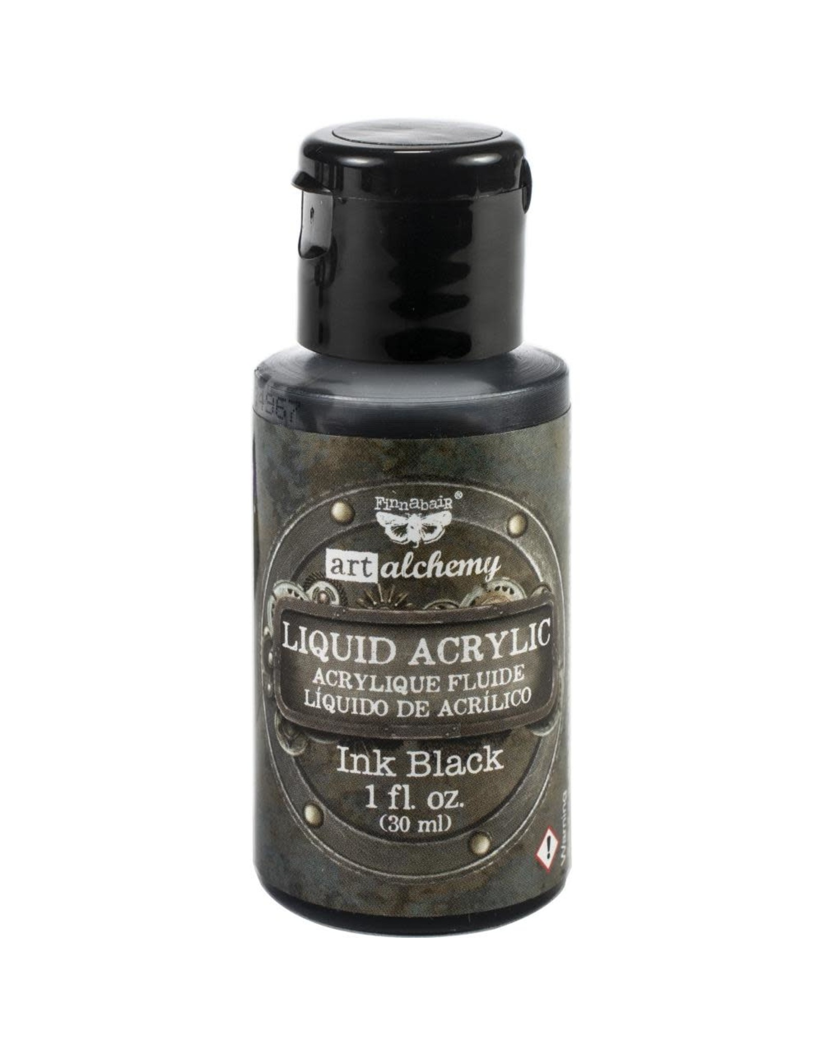 PRIMA MARKETING INC Art Alchemy Liquid Acrylic Paint - Ink Black