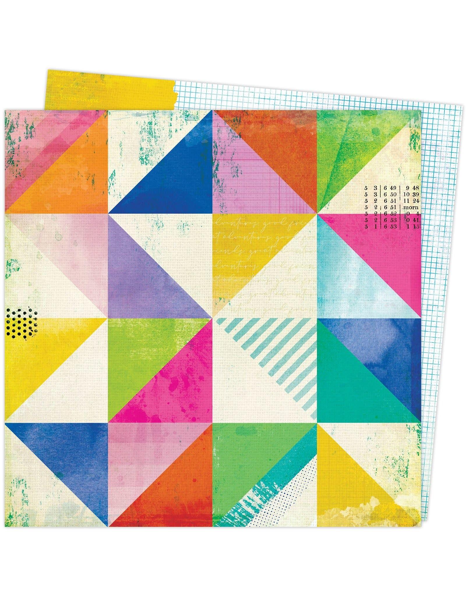 Vicki Boutin COLOR STUDY PAPER 12x12 - ABSTRACT