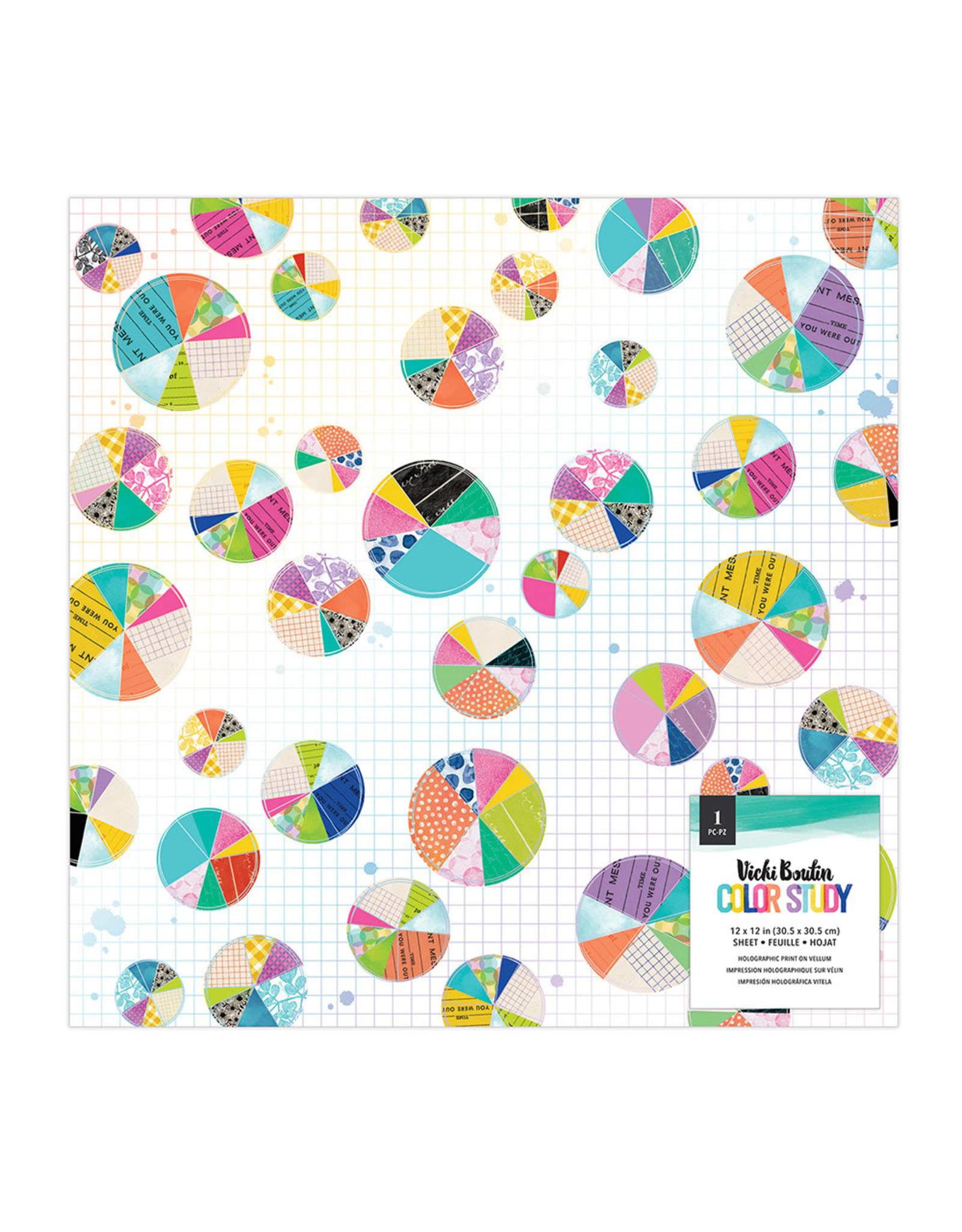 """Vicki Boutin 12"""" VELLUM-COLOR STUDY SPECIALTY PAPER"""
