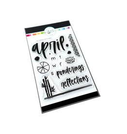 Catherine Pooler Designs Club Canvo April Reflections Stamp Set