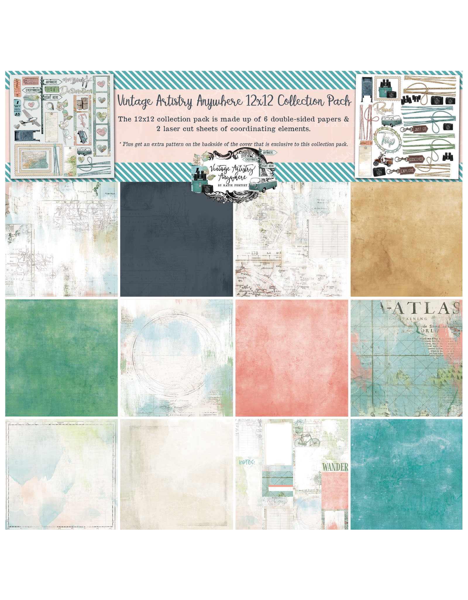 49 AND MARKET Anywhere 12x12 Collection Pack