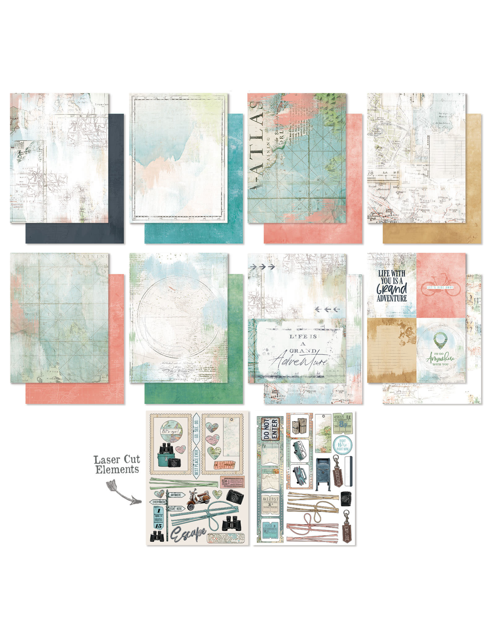 49 AND MARKET Anywhere 6x8 Collection Pack