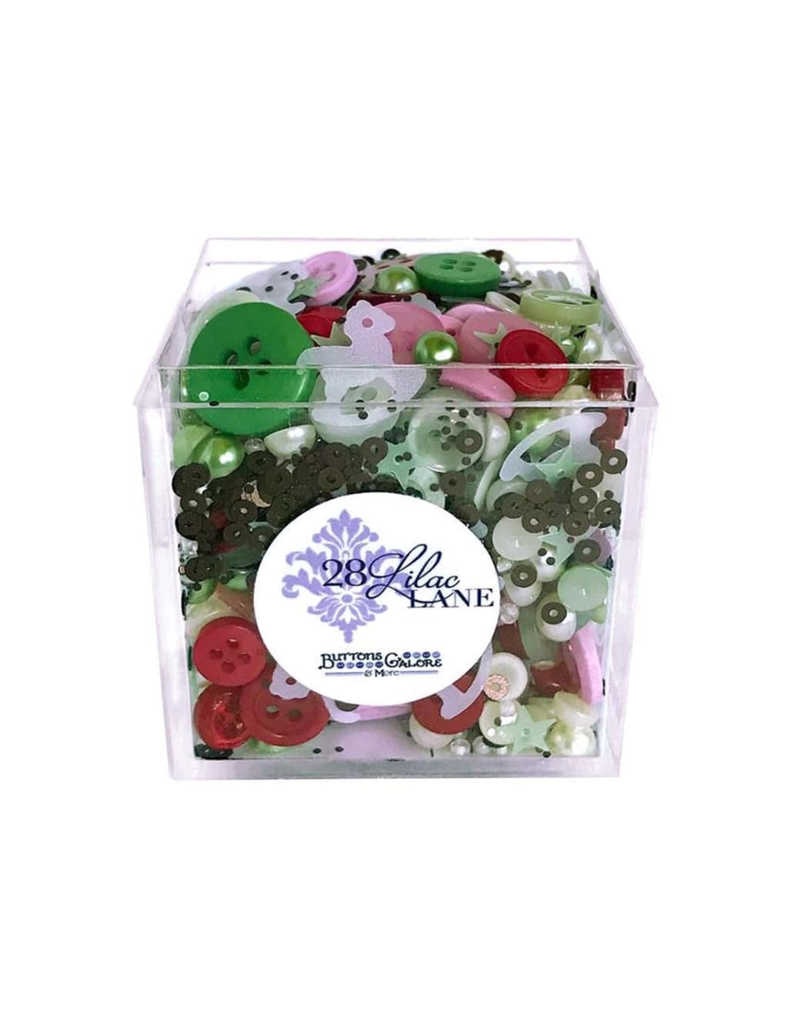 Buttons Galore & More 28 Lilac Lane - Shaker Mixes - Baby's First Christmas