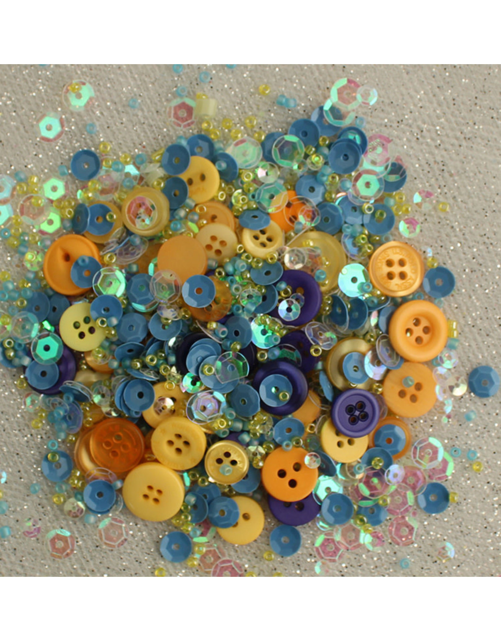 Buttons Galore & More 28 Lilac Lane - Shaker Mixes - Sunflower Sky