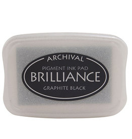 TSUKINEKO Brilliance Pigment Ink - Graphite Black