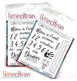 Limecitron Retour à l'école Stamp
