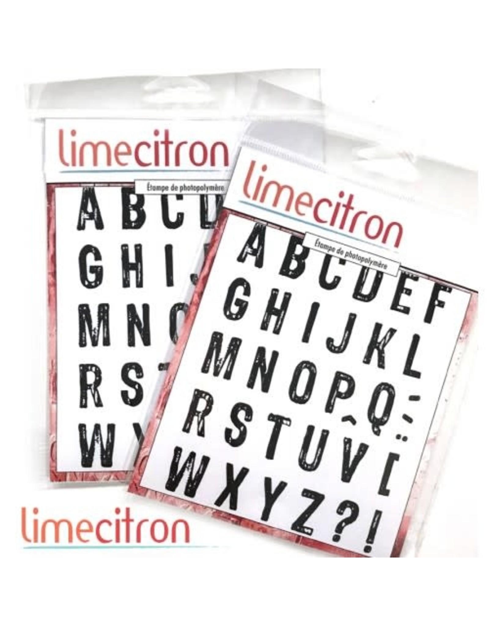 Limecitron Alphabet massif Stamp